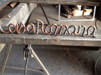 Letters Iron